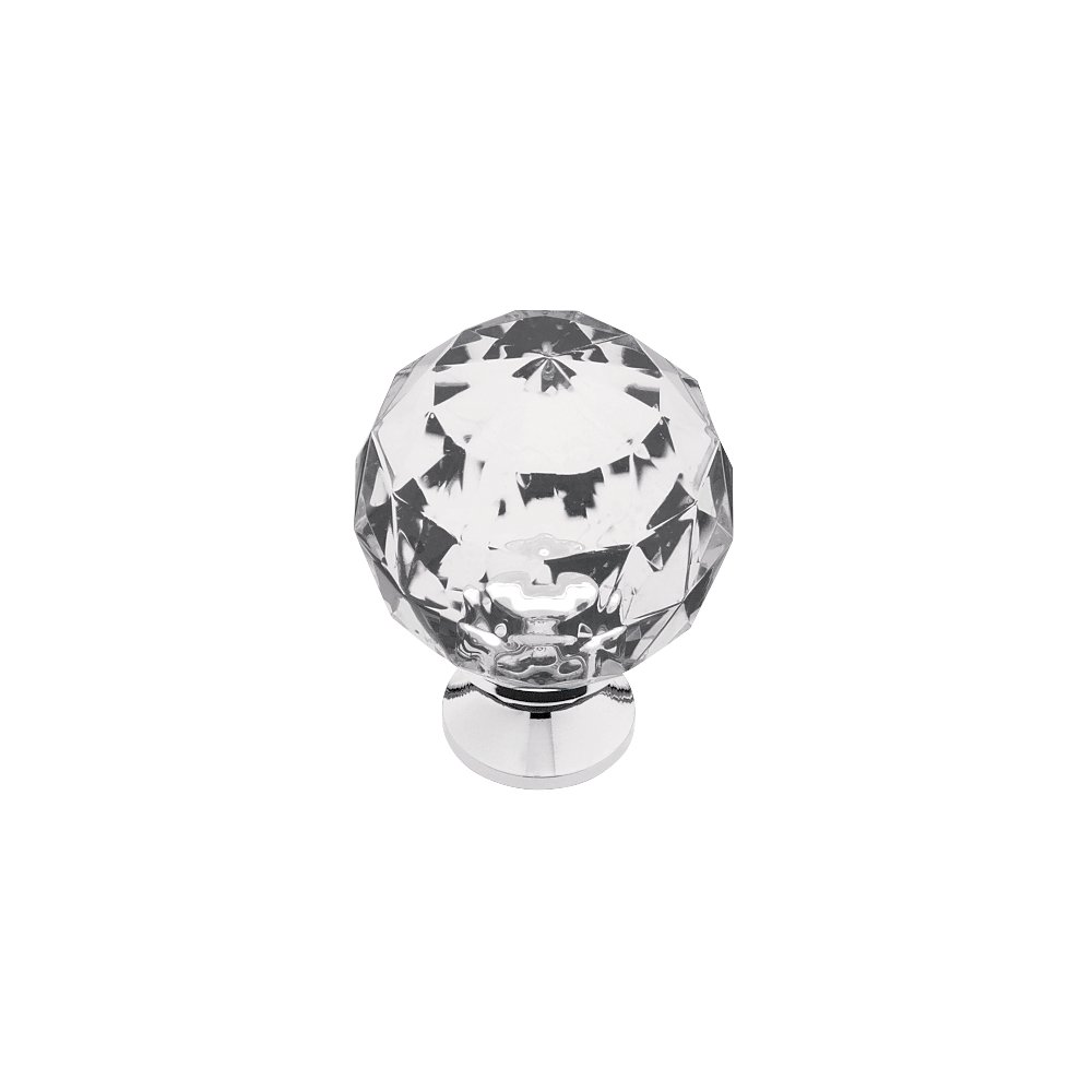 Franklin Brass 3250678-CHC-KT Acrylic Faceted Kitchen Cabinet Hardware Knob, 1-3/16'', 5 pack, Chrome and Clear by Franklin Brass (Image #5)