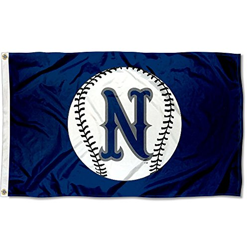 College Flags and Banners Co. Nevada Wolfpack Baseball Logo Flag