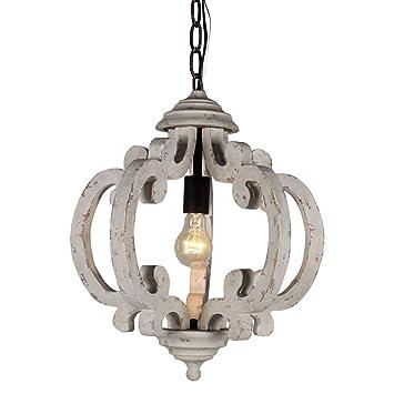 Amazon.com: Litup - Lámpara de araña vintage de metal ...