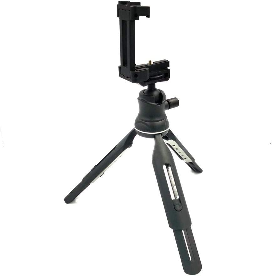 vividesire Camera Tripod Suitable for Digital SLR Camera Travel and Work Famous Two-Section Stretch Tripod Aluminum Tripod with Monopod 360-degree Ball Head Lightweight and Compact Tripod