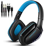 KOTION EACH B3506 Wireless Headset for Cell Phone Tablet PC Mp4 PS4, V4.1 Bluetooth Hifi Bass Stereo Headphone with Built-in Microphone