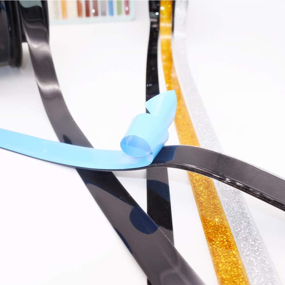 azulejo cinta anti-moho Azulejo autoadhesivo cinta anti-moho cinta adhesiva esquinas decorativas que cubren la superficie de la pared 7.5mm, negro