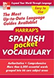 Spanish Vocabulary, Harrap's Staff, 0071627448