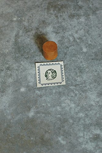 Classiky Japanese Porcelain Stamp With Cork Stamping Mat / [ 29751-16 ~ 29751-20 ] (20 / Daughter)