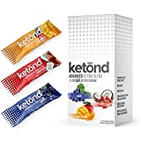 #8: Ketond Advanced Ketone Supplement - 15 'On the Go' Packs - Exogenous Ketone Supplement 11.7g of BHB (Beta-Hydroxybutyrate) Salts to Lose Weight, Increase Energy (Grape, Tigers Blood, Citrus Mango)