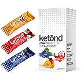 Ketond Advanced Ketone Supplement - 15 'On the Go' Packs - Exogenous Ketone Supplement 11.7g of BHB (Beta-Hydroxybutyrate) Salts to Lose Weight, Increase Energy (Grape, Tigers Blood, Citrus Mango)