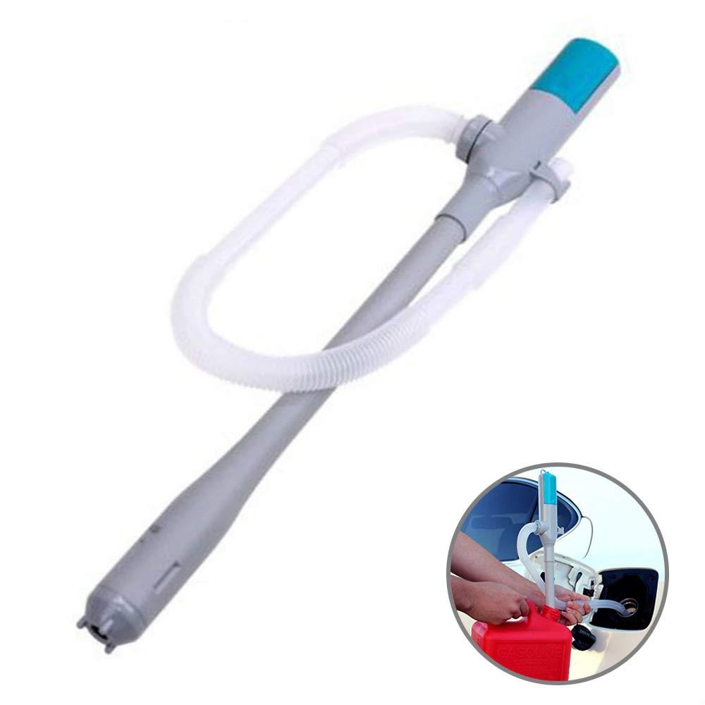 Pompe de Transfert de Liquide à Batterie, Portable Pompe à Siphon d'eau, Fluide, Carburant, Alimentée par 2 AA Batteries Portable Pompe à Siphon d'eau Alimentée par 2 AA Batteries CUNXIA