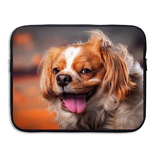 Laptop Storage Bag Cute Dog Face Wind Portable Waterproof Laptop Case Briefcase Sleeve Bags -