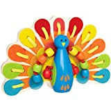 Hape Lacing Peacock Kids Art and Crafts Project