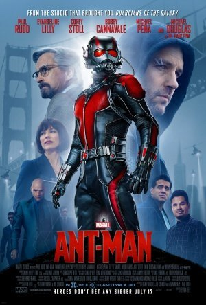 Ant Man Movie Poster 24x36quot 2015 Glossy Finish Thick