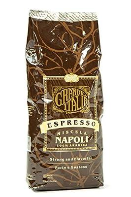 Grande Italia: Napoli Whole Espresso Beans: 100% Arabica - 2lbs