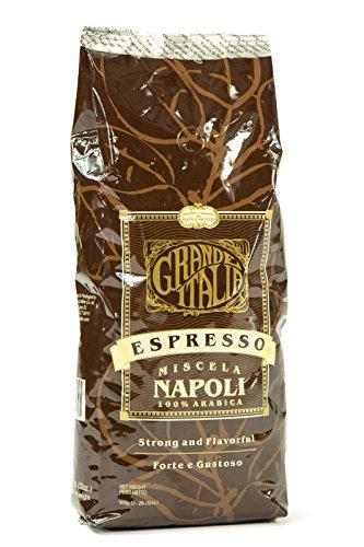 Grande Italia: Napoli Whole Espresso Beans: 100% Arabica - (Grand Espresso Beans)