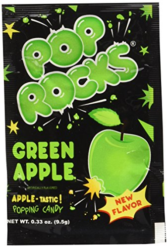 POP ROCKS Popping Candy, Apple, 24 Count ()