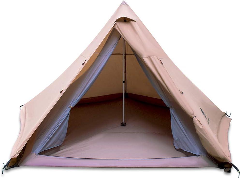 GEERTOP 4-6 Person Teepee Tent Image