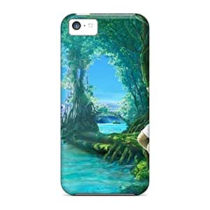 Iphone Case - Tpu Case Protective For Iphone 5c- Fairy Blue