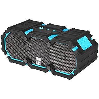 Altec Lansing LifeJacket 2 Wireless Waterproof Portable Mountable Bluetooth Speaker