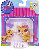Littlest Pet Shop Figures Orange Tiger & Baby Tiger