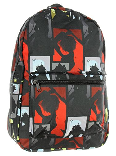 RWBY Poster Backpack Anime Emblems Character Silhouette