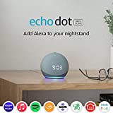 Echo Dot (4th Gen)   Smart speaker with clock and