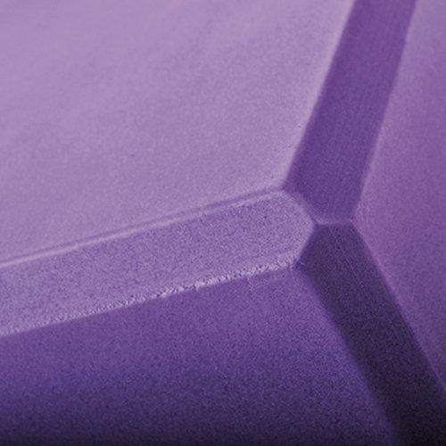 GOGO Foam Yoga Block, 4 x 6 x 9 inches Yoga Block, Yoga Accessories ( 2 PACK ) - Purple