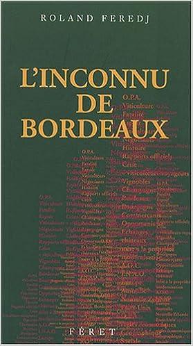 Téléchargement L'inconnu de Bordeaux pdf epub