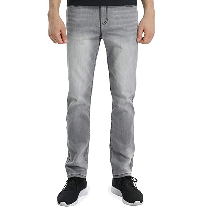 Amazon.com: Wardweegion - Pantalones vaqueros para hombre, 5 ...