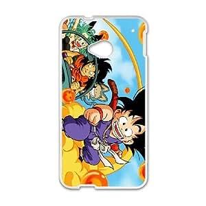 HTC One M7 Phone case White Dragon Ball (change) QQA8803522