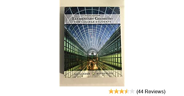 Elementary geometry for college students 5th edition amazon books fandeluxe Choice Image