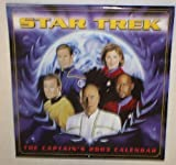Star Trek the Captains 2003 Wall Calendar