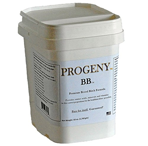 PROGENY Dog Breeding Supplement Premium Nutrition for Dam and Puppy Health - Amino Acids, Vitamins, Minerals, Prebiotic - Be Certain Your Pups Have The Nutrients They Need to Thrive, Guaranteed