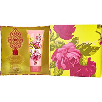 Betsey Johnson By Betsey Johnson For Women. Set-eau De Parfum Spray 3.4 oz & Body Lotion 6.7 oz 149415