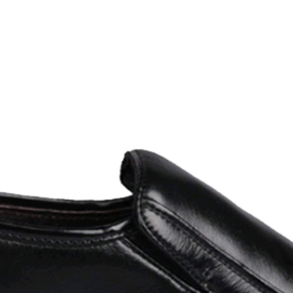 Männer Lässige Britische Breathable Slip Wearable Non Slip Breathable schwarz 022e9b