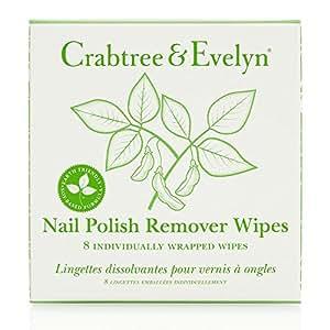 Amazon.com: Crabtree & Evelyn Nail Polish Remover Wipes