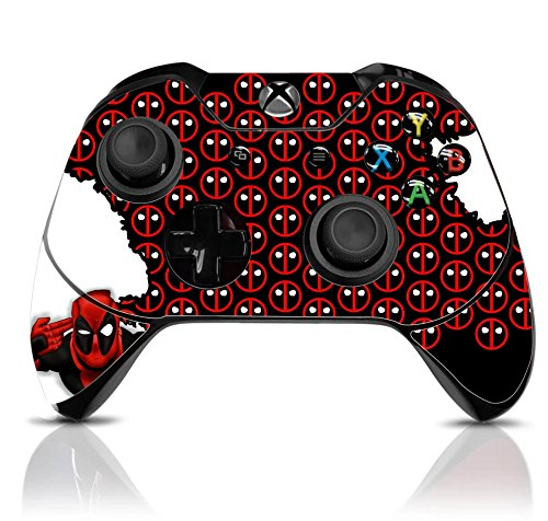 Xbox One Wireless Controller Pro Console - Newest Xbox Controller Blue-Tooth with Soft Grip & Exclusive Customized Version Skin (Xbox-Deadpool) (1 - Pack)