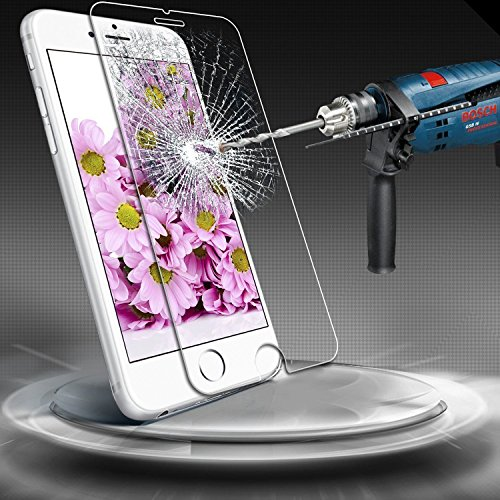 iPhone 7 6S 6 Screen Protector Glass, GreenField iPhone 7 Tempered Glass...