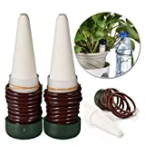 VHLL Indoor Automatic Self Watering Probes Plant System Flower Ceramic Spikes New