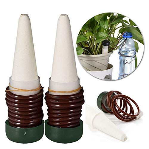 VHLL Indoor Automatic Self Watering Probes Plant System Flower Ceramic Spikes New by VHLL