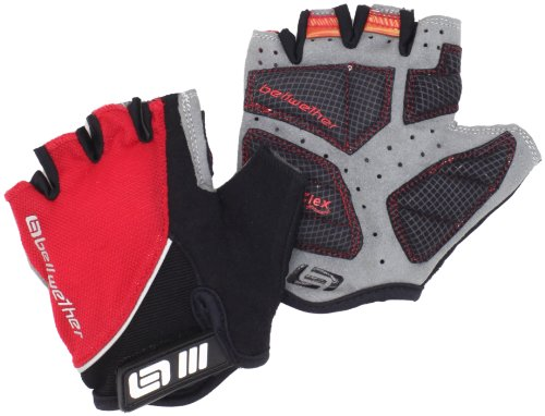 Bellwether Women's Gel Flex Glove, Medium, Ferrari