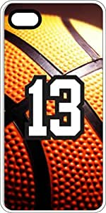 Basketball Sports Fan Player Number 12 Clear Rubber Decorative iphone 5c Case