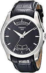 Tissot Men's T0354071605100 Couturier Day-Date Calendar Watch