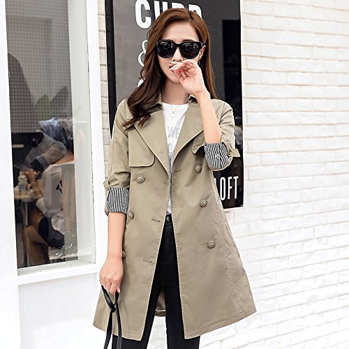 Windbreaker Coats Jacket Jackets nbsp;Female Long Autumn Khaki amp; Women'S Spring SCOATWWH Women'S 7f5OwBqT