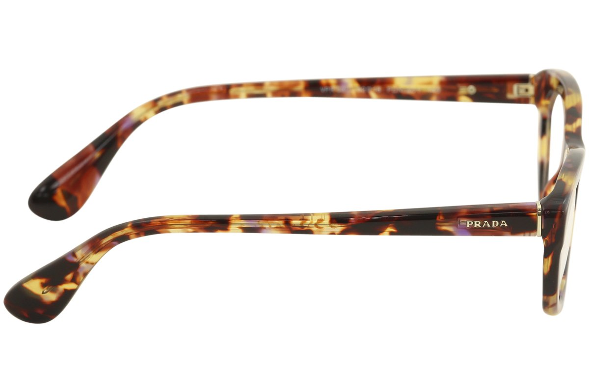 93fb7168c98a9 Amazon.com  Prada PR03QV Eyeglasses-PDN 1O1 Spotted Havana Pink-52mm   Sports   Outdoors