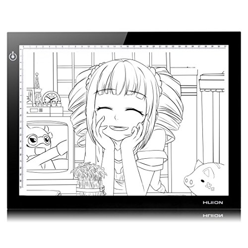 Price comparison product image Huion L4S Light Box Ultra Thin LED Animation Drawing Stencil Board Table Pad