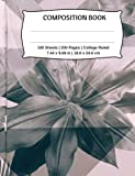 Composition Book , College Ruled: Beautiful Flower