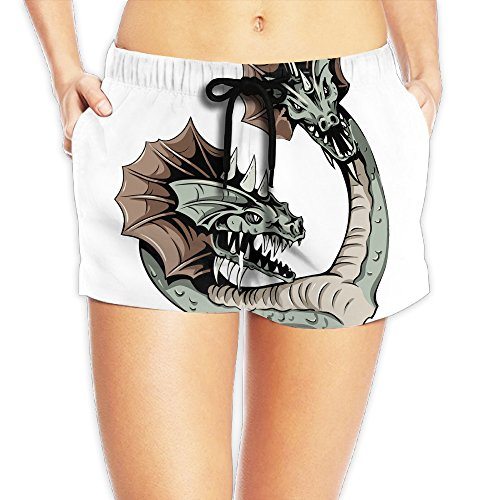 Double Headed Snake (Women's Awesome Double Headed Snake Illustration Short Pants)