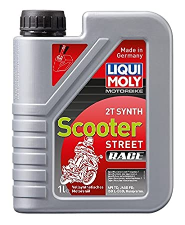Amazon.com: liquimoly Racing Scooter 2T Synth 1L (Paquete de ...