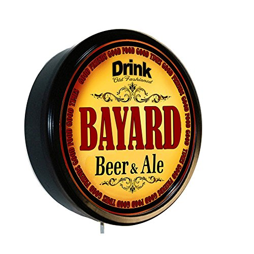 (BAYARD Beer and Ale Cerveza Lighted Wall Sign)