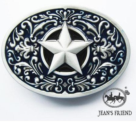 Star Cool Belt Buckle - 8