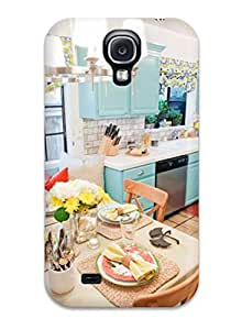 Snap-on Blue Cabinetry In Kitchen And Breakfast Nook Case Cover Skin Compatible With Galaxy S4