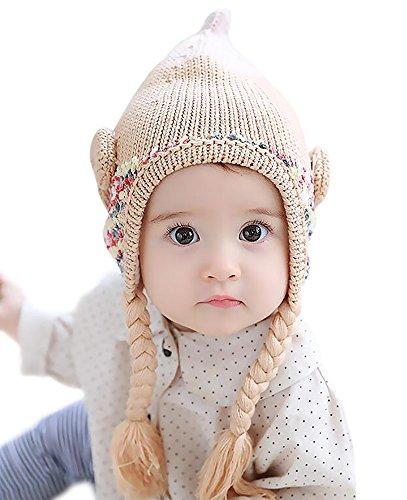 wantu-toddler-girls-winter-knitted-braid-fleece-warm-cap-2-5-years-old-beige